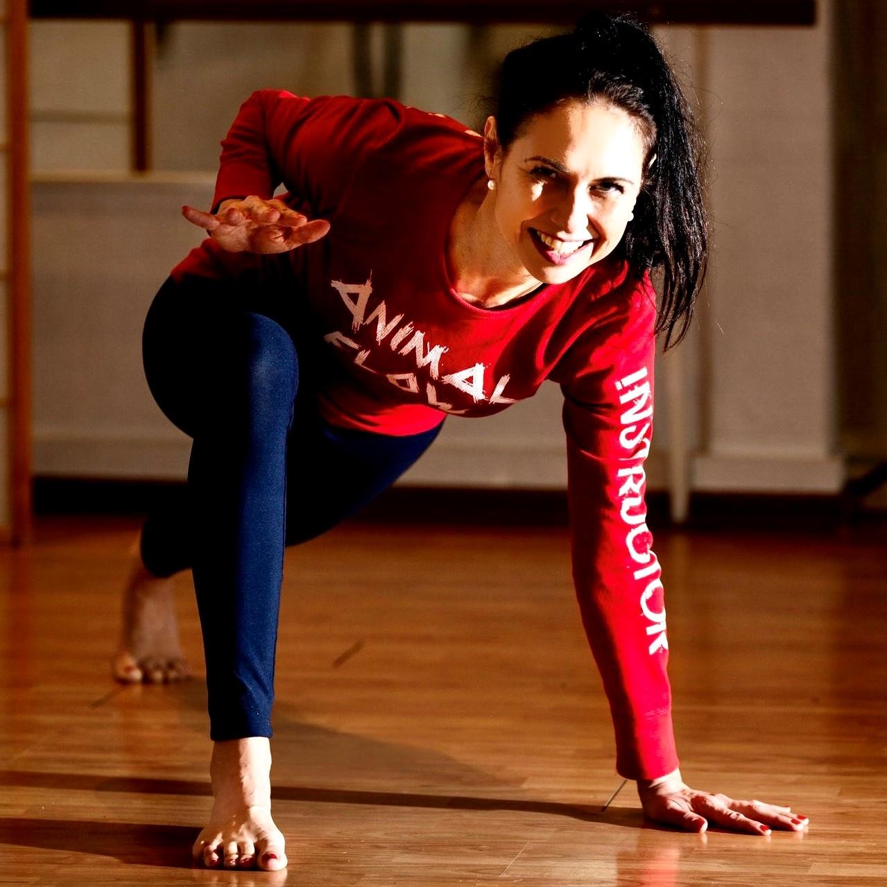 Melanie Gotic: Animal Flow ist Bewegung für Körper und Geist